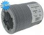 Gaine PVC souple diamètre 125 mm longueur de 6 mètres