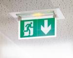 Plaque évacuation verticale pour BAES et LSC évacuation à LEDS ECO