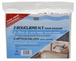 Bouclier thermique Haute Température pour soudures - 20 x 27 cm - Pack de 3 - Geb