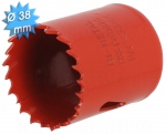 Scie cloche HSS bi-métal diamètre 38 mm