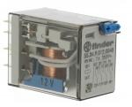 Relais miniature 12 volts DC 4 contacts 7 ampères