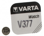 .Pile bouton Varta V377 SR 66 1,55 volts à l'oxyde d'argent