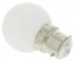 Ampoule à LED B22 0.8W 230 Volts Blanche 3000°K