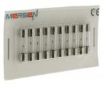10 fusibles en verre 5 x 20 250V 6,3 Ampères type T (Temporisé)