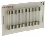 10 fusibles en verre 6 x 32 250V 4 Ampères type F (Rapide)