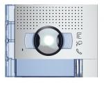 Bticino Sfera New - Façade - Caméra grand angle + 1 Bouton - Allmetal
