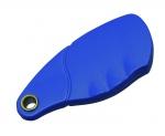 Badge de proximité - 13.56 MHZ - Polycarbonate - Bleu  - MIFARE - CDVI PVP