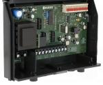 Récepteur radio CARDIN S38 RX fréquence 30.875 Mhz 4 canaux 230V