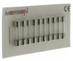 10 fusibles en verre 5 x 20 250V 0,2 Ampère type T (Temporisé)
