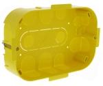 Boîte de dérivation cloison sèche 160 x 105 x 40 avec couvercle Legrand Batibox