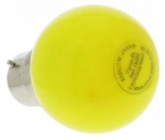 Ampoule à LED B22 0.8W 230 Volts Jaune