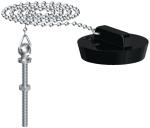 Bouchon - Avec chaîne et borne - Diamètre vidage 45 à 50 mm - Gripp 219464