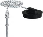 Bouchon - Avec chaîne et borne - Diamètre vidage 49 à 53 mm - Gripp 219466
