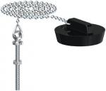 Bouchon - Avec chaîne et borne - Diamètre vidage 55 à 58 mm - Gripp 219468