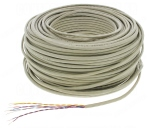 Cable Téléphone - 4 paires 5/10 - Couronne de 100 mètres