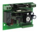 Récepteur radio GIBIDI fréquence 433.92 Mhz 2ch embrochable