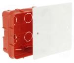 Boîte de dérivation à sceller 85 x 85 x 40 avec couvercle