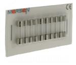 10 fusibles en verre 5 x 20 250V 0,5 Ampère type F (Rapide)
