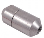 Manchon en aluminium M12 Femelle - Femelle
