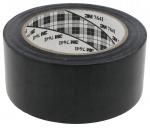 Scotch vinyle 3M 764I Noir largeur 50 mm