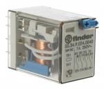 Relais miniature 24 volts DC 4 contacts 7 ampères