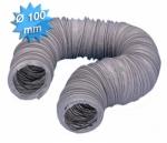 Gaine PVC - Souple - Renforcée - Diamètre 100 mm - 6 mètres