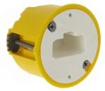 Boite cloison sèche luminaire applique profondeur 40 mm Legrand batibox avec DCL