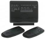 Kit récepteur radio CARDIN RXM S449 fréquence 433.92 Mhz 2 cx