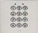 Module clavier - 100 codes - 2 relais - Avec façade - Aiphone GTAC