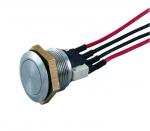 Bouton poussoir - 1 x NO/NF - Avec cables - CDVI BNONFCAB