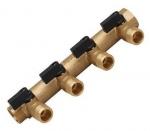 Collecteur - Male / Femelle 20 x 27 - 4 dérivations - Mini vannes intégrées - Mâle 15 x 21 - GRK 958-1C