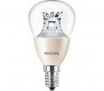 Ampoule à LED - Philips MASTER LEDlustre DT - E14 - 6W - 2700K - P48 - Claire