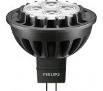 Ampoule à LED - Philips MASTER LEDspotLV D - GU5.3 - 7W - 2700K - MR16 - 60D
