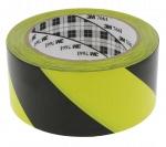 Scotch vinyle 3M 764I Jaune et Noir largeur 50 mm