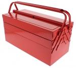Caisse à outils en métal 5 compartiments