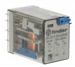 Relais miniature 24 volts DC 2 contacts 10 ampères