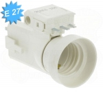 Douille culot E27 compact DCL avec fiche amovible