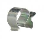 Clips bord de tôle pour cable ou gaine de 15 à 21 mm
