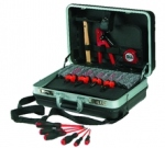 Valise noire ABS 17 outils