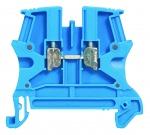 Bloc Viking 3 - 1 jonction - 1 entrée / 1 sortie - 2.5 mm² - Bleu - A vis