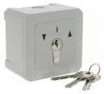 .Contacteur à clé saillie ou encastré montée/descente