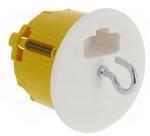 Boite cloison sèche luminaire centre profondeur 50 mm avec DCL