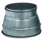 Reduction conduit conique galvanisé à joint diamètre 250/160mm