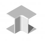 Angle intérieur - 40 x 25 - Blanc - TA-E - Iboco 00688