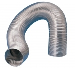 Gaine alu - Semi rigide - Diamètre 400 mm - 3 Mètres - Unelvent 824250