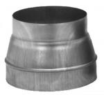 Réduction Conique - En galva - Diamètre 250 vers 160 - Unelvent 860797