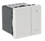 Variateur de lumière 2 modules blanc 600 W Legrand Mosaic