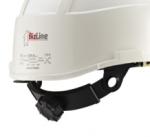 Casque IDRA avec écran de protection intégré blanc