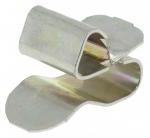Clips bord de tôle pour cable ou gaine de 6 à 9 mm