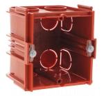 Boite 2 modules associable à sceller profondeur 60 mm Legrand Batibox